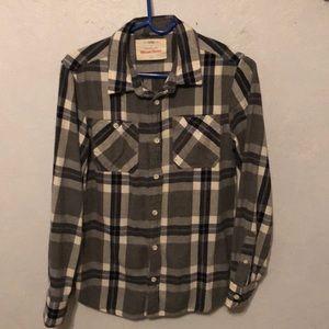 Blue/grey Flannel